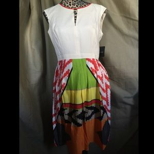 NWT ELLEN TRACY size 8 sleeveless dress