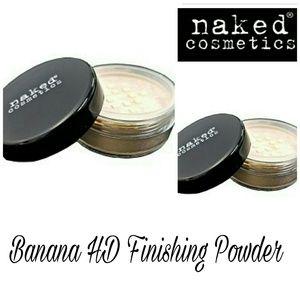 naked cosmetics  Other - Naked Cosmetics HD Finishing Powder BANANA