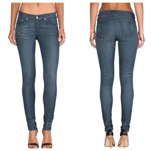 Rag & Bone/JEAN The Skinny in Pinner Wash