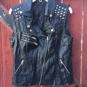 Forever 21 Jackets & Blazers - Faux Leather Vest