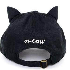 157c4ce244e Accessories - Empyre Cat Ear Onyx Black Strapback Hat