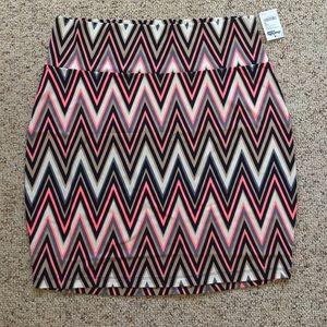 Charlotte Russe Dresses & Skirts - Chevron Bodycon Skirt