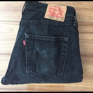 Levi's Other - Men's Levis 501 Original Fit Jeans in Black