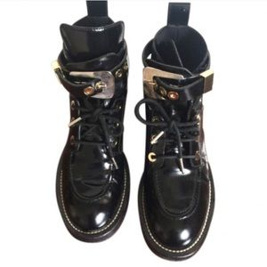 Cheap Sale New Pre-owned - Leather lace ups Balenciaga Latest Collections Cheap Online gYFphIwvF
