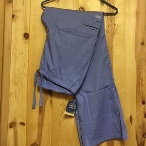 Cherokee Other - Cherokee Workwear Scrub Pant NWT Ceil Blue Medium