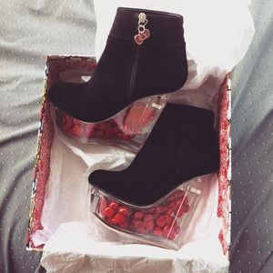 Jeffrey Campbell Shoes - Hello Kitty X Jeffrey Campbell Icy Boots ❤