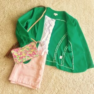 Daniel Cremieux Jackets & Blazers - 👜Cremieux Green Blazer👠🌈