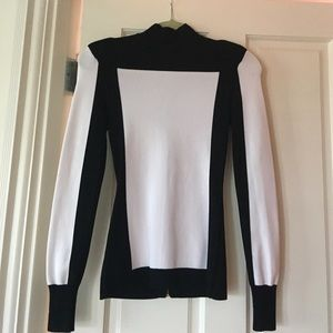 H and m balmain top