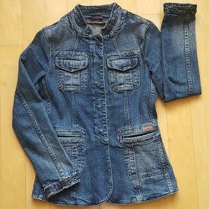 Vertigo Paris Jackets & Blazers - Vertigo jean jacket