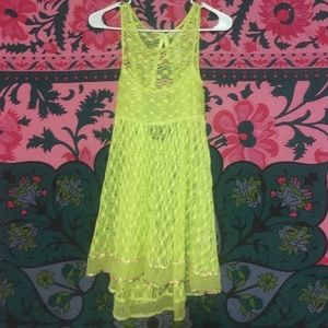Free People Dresses & Skirts - NWOT Floral Free People Beach Cover Up Dress