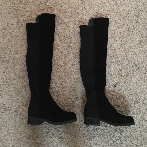 eaa7d233881 Stuart weitzman 505 boots. Suede. M 58a252939818296152021c3b