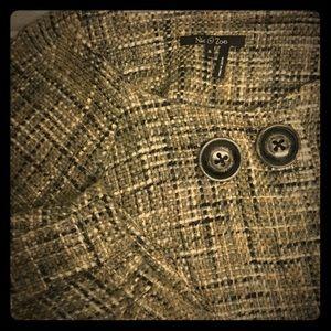 NIC + ZOE Jackets & Blazers - Tweed 3/4 sleeve cropped blazer