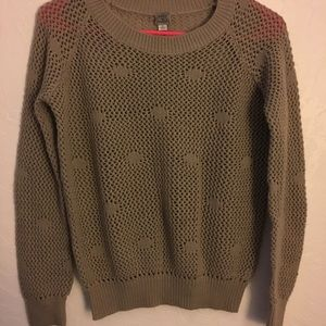 Knit Tan Sweater