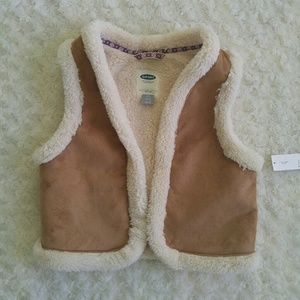 Old Navy Other - Sherpa lined vest