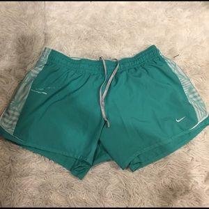 Blue Nike Running shorts