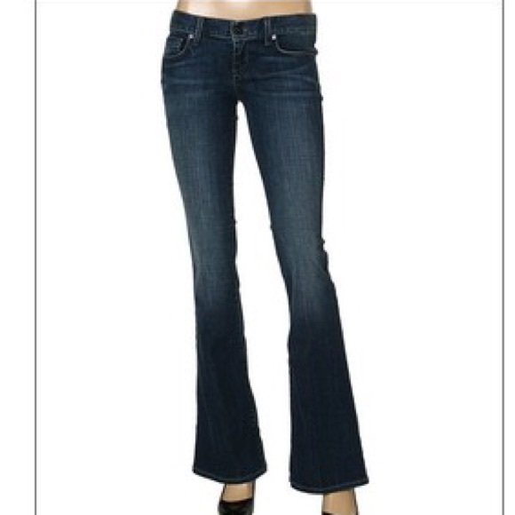 high fashion buying cheap harmonious colors Chip and Pepper ultra low rise flare jeans