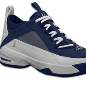 Jordan Shoes - Jordan SP Trainer Midnight NavyMetallicSilverWhite