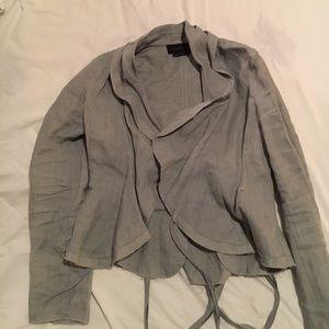 Linen bcbg maxazria jacket.