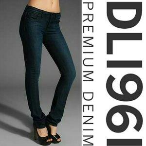 DL1961 Denim - Karen High Rise Skinny Jeans in Bolt Wash