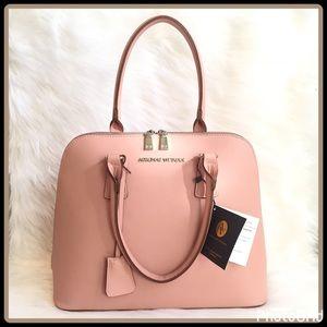 "Adrienne Vittadini Handbags - ""BLUSH"" DOME SATCHEL"