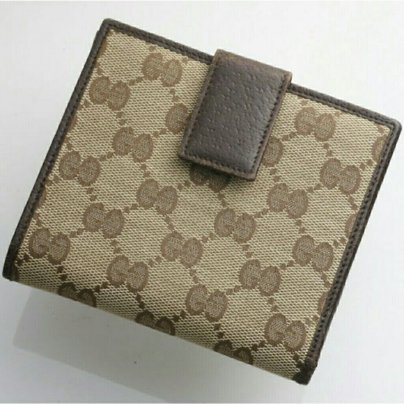 5578329999ce Gucci Bags | Authentic Vintage Gg Bifold Wallet | Poshmark