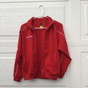 Diadora Other - Red Athletic Jacket