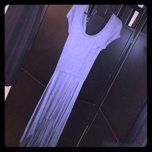 Dresses & Skirts - Gray hi-low dress size M-L