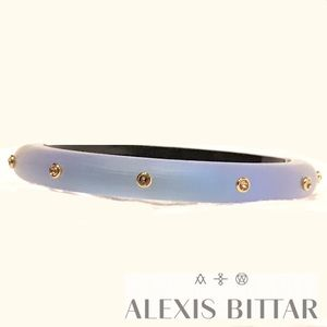 Alexis Bittar Jewelry - NWOT Alexis Bittar Blue Hinge Bracelet