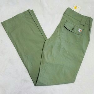 Carhartt Pants - Carhartt Women Olive Green Casual Pants Size 4 L17