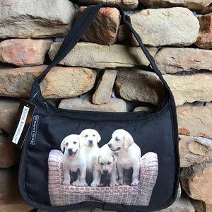 Handbags - Basket of Puppies Mini Hobo