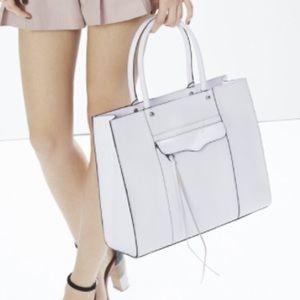 Rebecca Minkoff Handbags - Rebecca Minkoff White & Black MAB Tote Bag