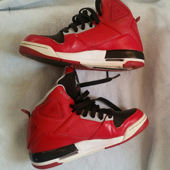 buy popular 78d55 8f955 Youth - Nike Air Jordan SC-3 Flight 629942-001 Red