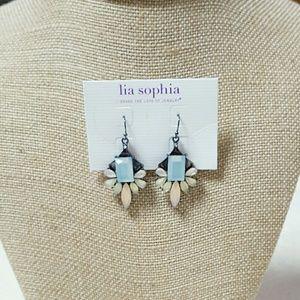 Lia Sophia Jewelry - 💧SALE💧Jeweled drop earrings