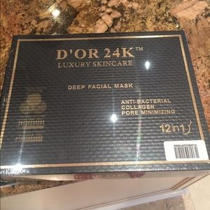 D'Or Skincare Other - D'or 24k luxury gold face masks-12 pack