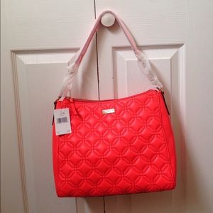 NWT Kate spade quilted bag