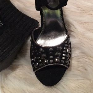 Shoes - Bebe shoes size 6.5 wedges like new