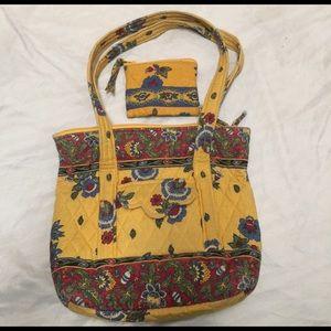 ✂️25%✂️VERA BRADLEY handbag with wallet