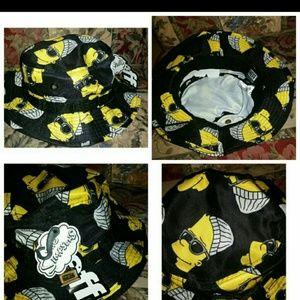 The simpsons neff bucket hat