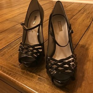 Wild Pair Shoes - Belinda Black Heels