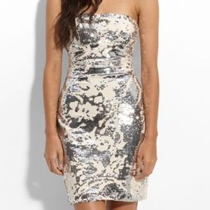JS Boutique Dresses & Skirts - Strapless Sequined dress