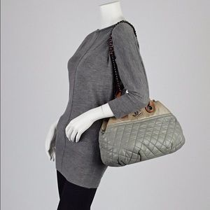 169260ea0b7f51 CHANEL Bags | Grey Small Inthemix Tote Bag | Poshmark