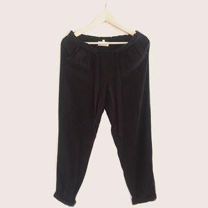 Jolt Pants - Brand New Soft Black Crop Pants