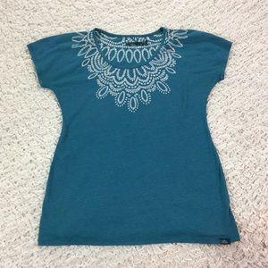 Prana Tops - Prana mandala necklace print tee M