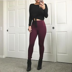 Pants - RESERVED BUNDLE High waisted jeggings