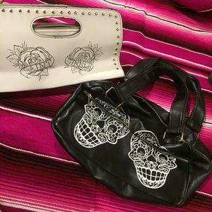 Bundle lux de ville purse and clutch !