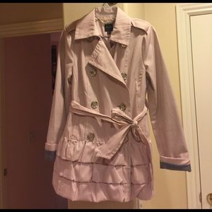 Light Pink Trench
