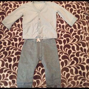 Imps & Elfs Other - Imps & Elfs cardigan & pant set. 6-9 mos. like new