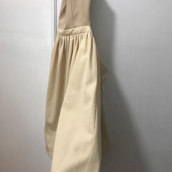 blaque market Dresses - Blaque market leather low cut dress