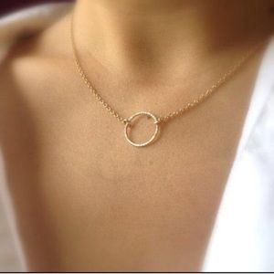 Dogeared Jewelry - Karma Necklace in 14k Gold Fill