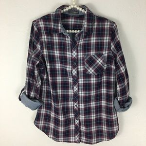 Sandra Ingrish Tops - {Nordstrom's} Sandra Ingrish Americana Plaid Shirt